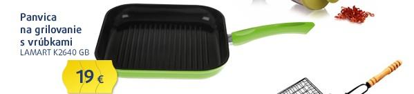 K2640 GB Keramická grill pánev