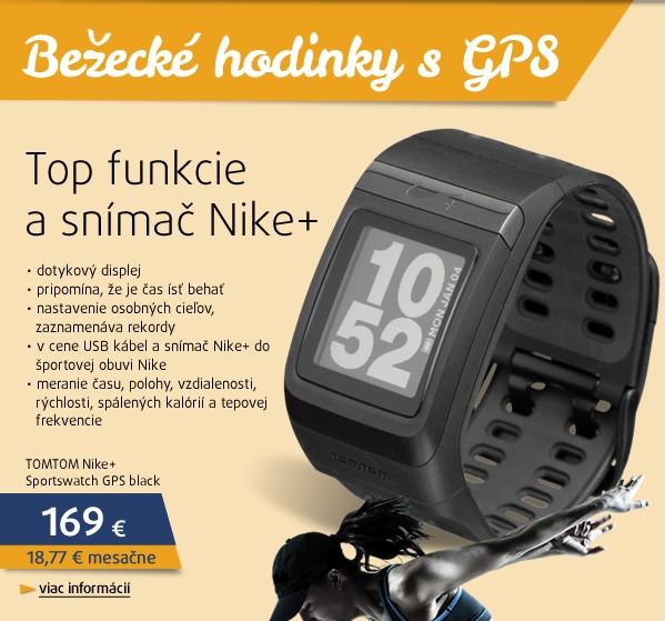 Nike+ Sportswatch GPS black