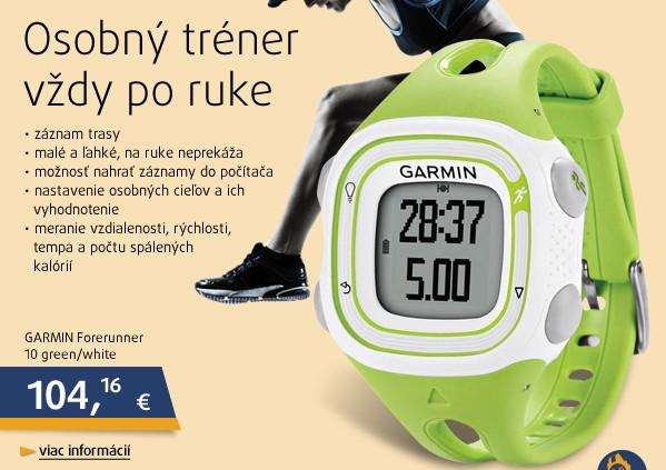 Forerunner 10 green/white