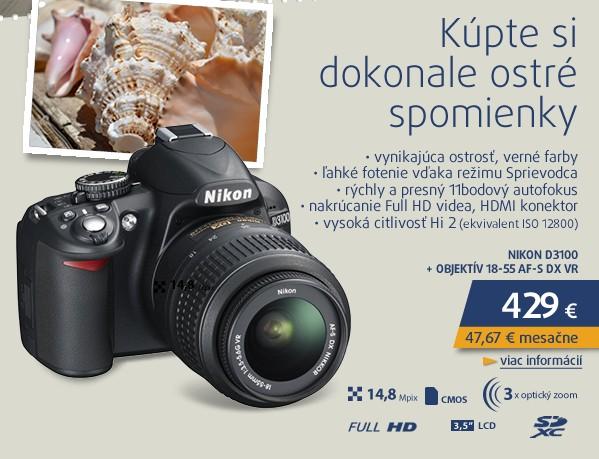 D3100 + 18-55 AF-S DX VR