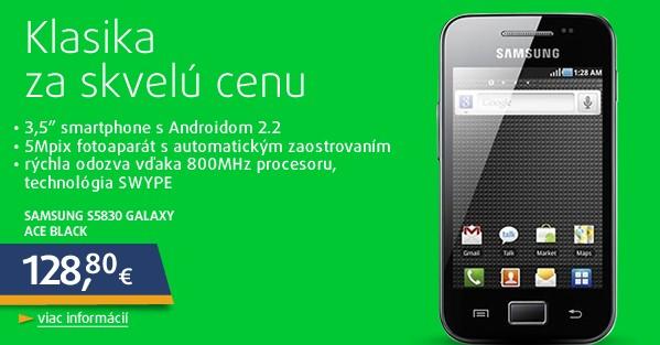 S5830 Galaxy Ace Black