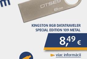 8GB USB klúč DataTraveler 109 kovový