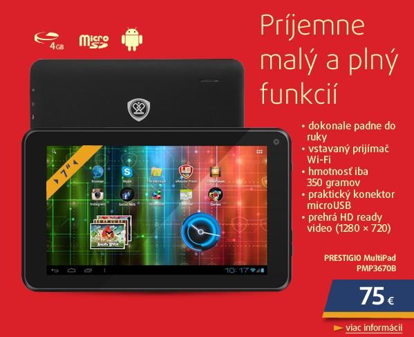 MultiPad PMP3670B