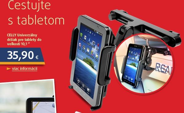 Univerzální držák pro iPad a tablet s instalací do opěrky au