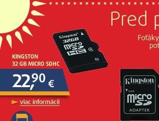* 32GB MicroSD (Transflash) Class 4