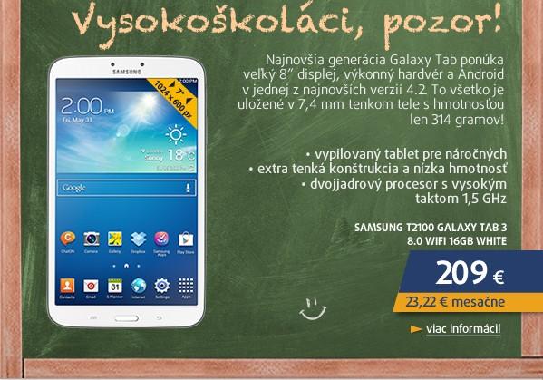 T2100 GALAXY TAB 3 7.0 WIFI (8GB) white