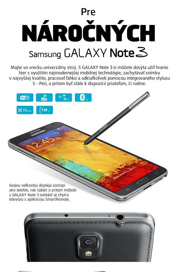 Galaxy Note 3 (N9005/32GB) Black