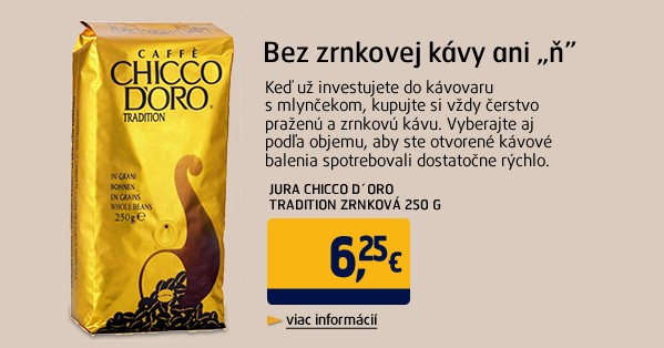 CHICCO D´ORO Tradition zrnková 250 g