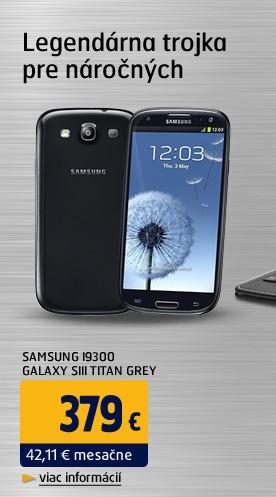 I9300 Galaxy SIII Titan Grey
