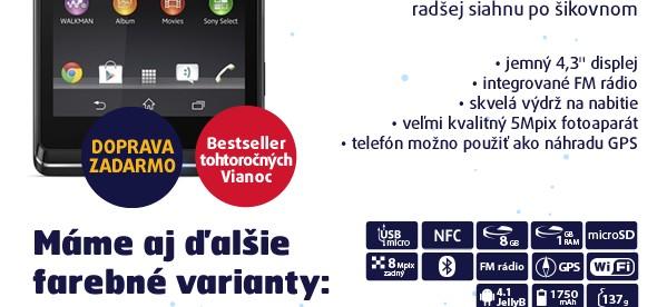 Xperia L C2105 Starry Black