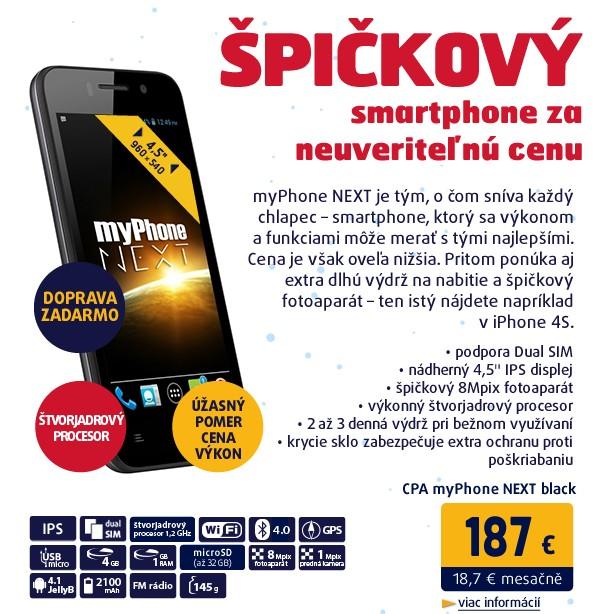 myPhone NEXT black