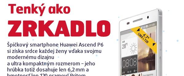 Ascend P6 White