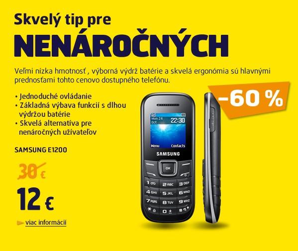 E1200+ SIM karta O2 s 30eur kredit bonus počas 10 mesiacov