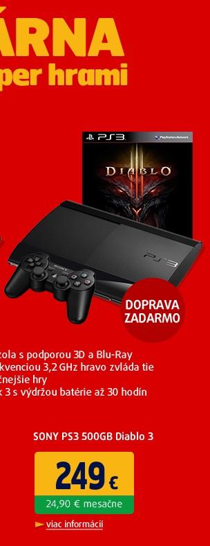 PS3 500GB Diablo 3