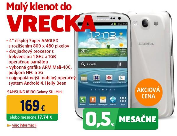 i8190 Galaxy SIII Mini Ceramic White NFC
