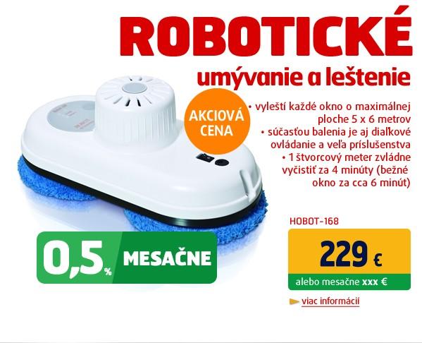 Robotický umývač okien HOBOT-168