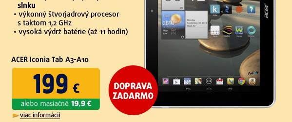 "Iconia Tab A3-A10 10.1"" (16GB) white NT.L29EE.005"