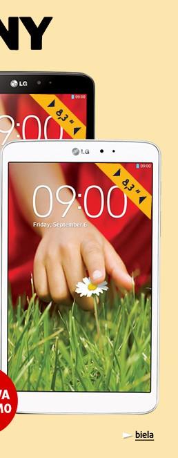G Pad 8.3 (V500) 16GB white
