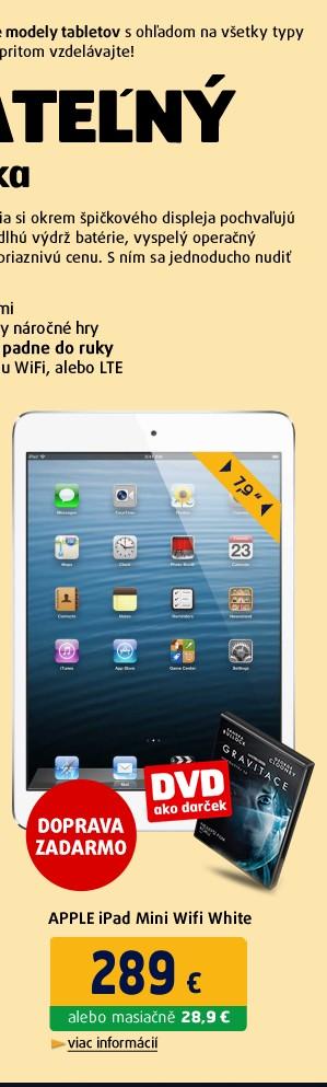 iPad Mini Wifi White 32GB