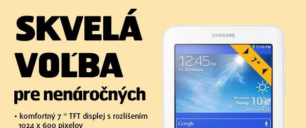 """T110 Galaxy Tab 3 7"""" Lite WIFI (8GB) White"""