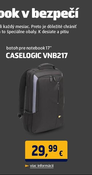 "CL-VNB217 batoh na notebook 17"""