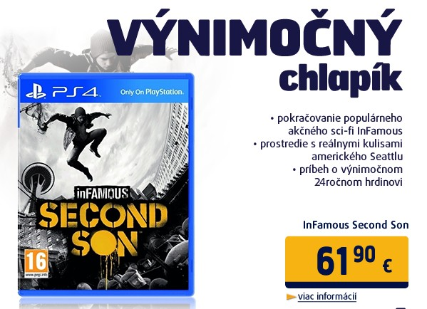 InFamous Second Son (PS4)/EAS