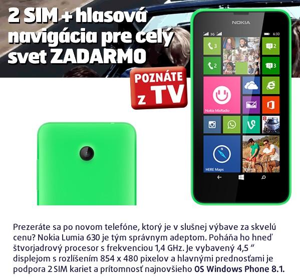 Lumia 630 DS Green+Black