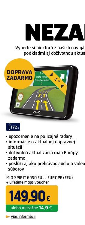 SPIRIT 6950 FULL EUROPE (EEU) + Lifetime maps voucher