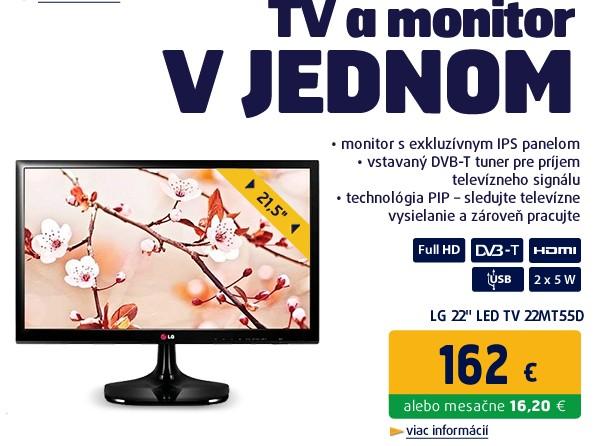 22 LG LED TV 22MT55D - Full HD,IPS,HDMI,DVB-T