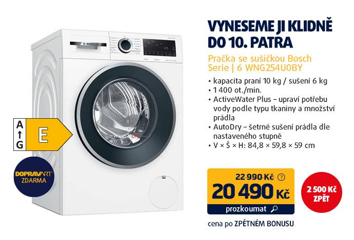 Pračka se sušičkou Bosch Serie | 6 WNG254U0BY