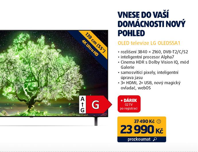 OLED televize LG OLED55A1