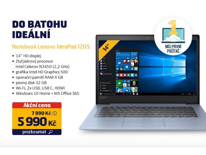Notebook Lenovo IdeaPad 120S