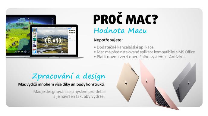 PROČ MAC?