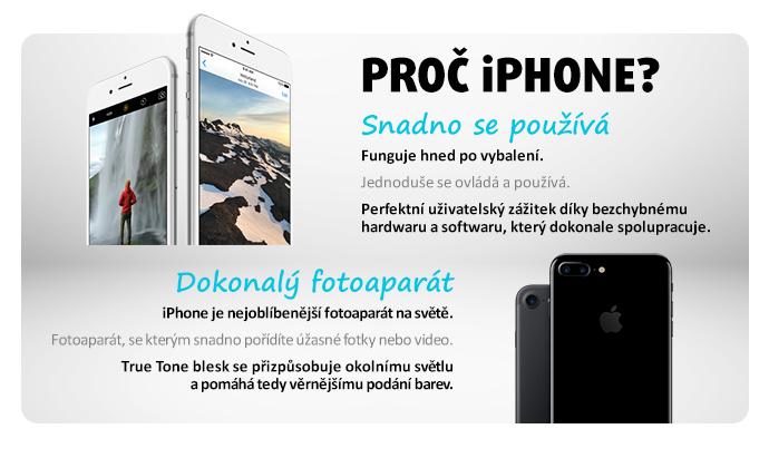 Proč iPhone?