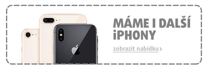 Máme i další iPhony