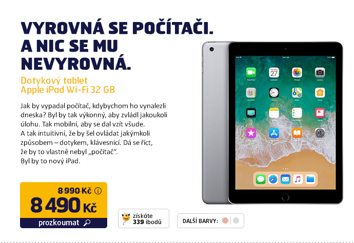 Dotykový tablet Apple iPad Wi-Fi 32 GB