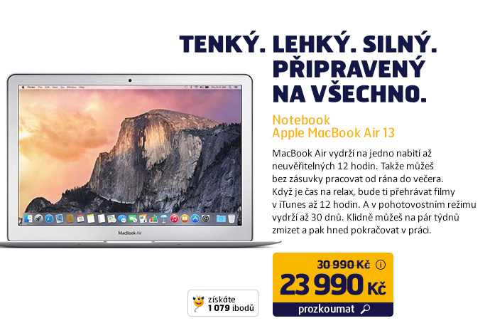 Notebook Apple MacBook Air 13