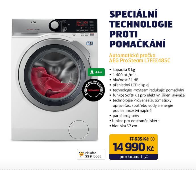 Automatická pračka AEG ProSteam L7FEE48SC