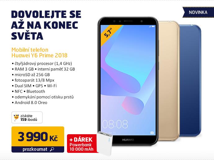 Mobilní telefon Huawei Y6 Prime 2018