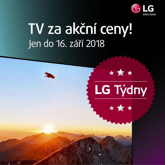 LG týdny - TV za akční ceny