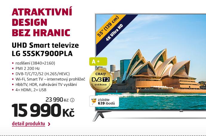 UHD Smart televize LG 55SK7900PLA