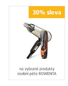30% sleva na vybrané produkty osobní péče Rowenta