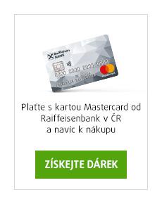 Plaťte s kartou Mastercard a získejte dárek