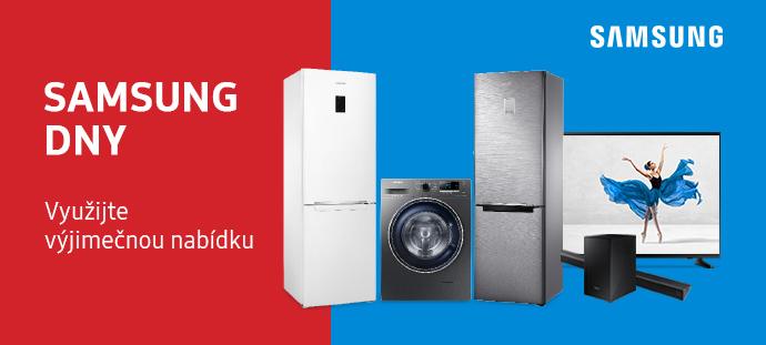 Využijte vyjímečnou nabídku! Samsung dny