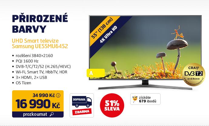 UHD Smart televize Samsung UE55MU6452