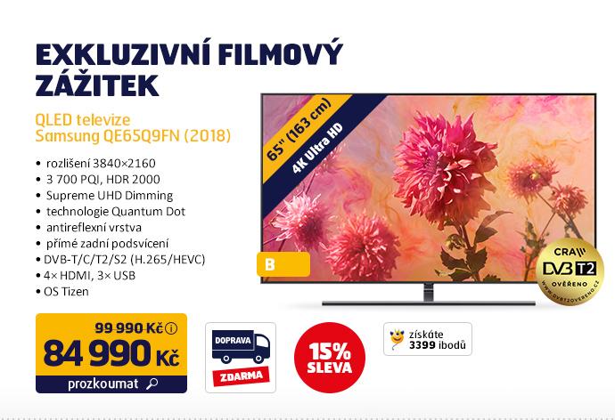 QLED televize Samsung QE65Q9FN (2018)