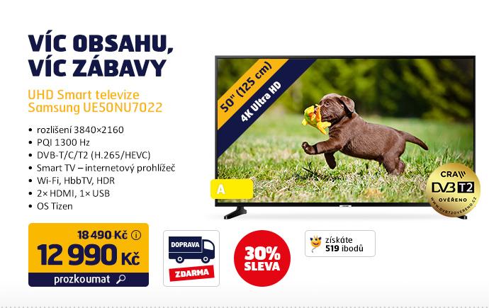 UHD Smart televize Samsung UE50NU7022