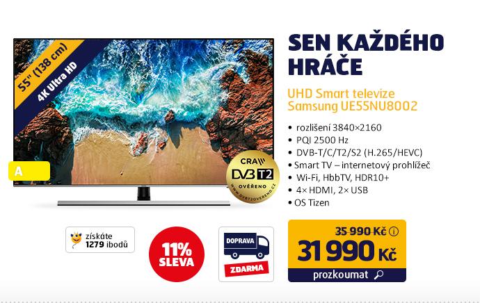 UHD Smart televize Samsung UE55NU8002