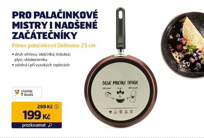 Pánev palačinková Delimano 25 cm
