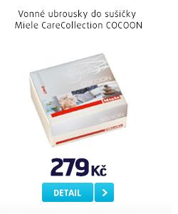 Vonné ubrousky do sušičky Miele CareCollection COCOON